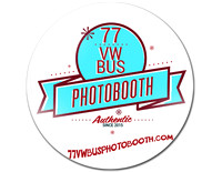 1977 VW BUS PHOTO BOOTH LOGO